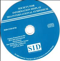 2014 Display Week Symposium Digest DVD